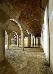 Dipòsit d'aigua de Bellesguard. Fotografia de Javier Sardá