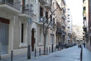 El carrer de Septimània. Fotografia de Pau Farràs