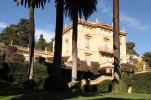 Palauet i jardins de la casa de la família Bertran, construït a mitjan segle XIX. Fotografia de Juan Pablo Torrents-Faura