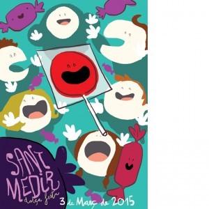 Cartell de Sant Medir 2015