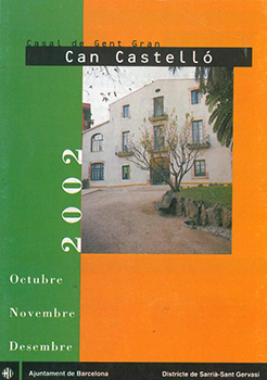 Programa d'activitats de 2002