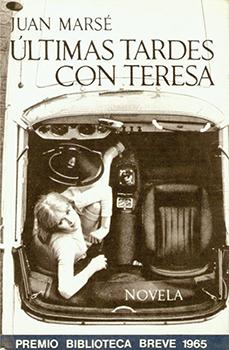 Coberta original de la novel·la de Juan Marsé.