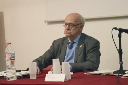 Jordi Llorach, fins aleshores vicepresident del Consell de Barri de Galvany. Fotografia de Carme Rocamora