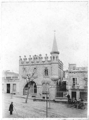 La Casa Comas d'Argemí, de Marfà.Col·lecció de fotografies del CEG - AMDG. La fotografia destacada és de Javier Sardá
