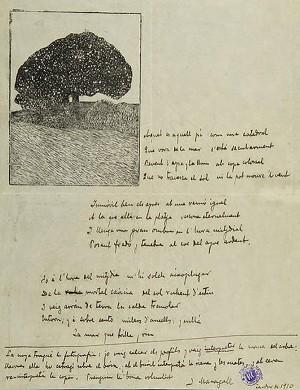 ManuscritdeJoanMaragall, document cedit per Arxiu Maragall - Biblioteca de Catalunya.