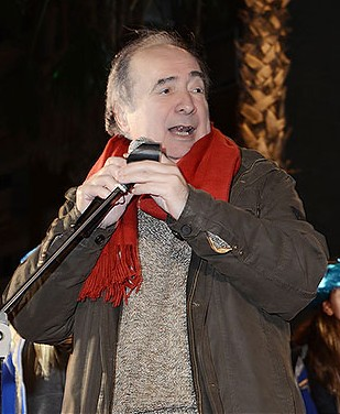 Salvador Albuixech va fer de mestre de cerimònies als trons reials de la Bonanova.  Fotografia de Javier Sardá
