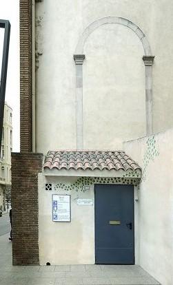 Les dues seus d'Heura: a la imatge destacada, la torre del Refugi d'Obreres i, a sobre, la de Josepets. Fotografies de Javier Sardá