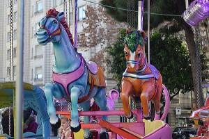 Cavallets del Turó Parc. Fotografia de Roser Díaz Martín