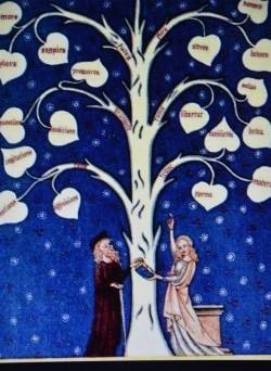 Arbre de la filosofia d'amor.