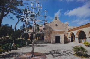 Santuari de Cura a la muntanya de Randa (Mallorca). Fotografia de Fernando Siles Melgar
