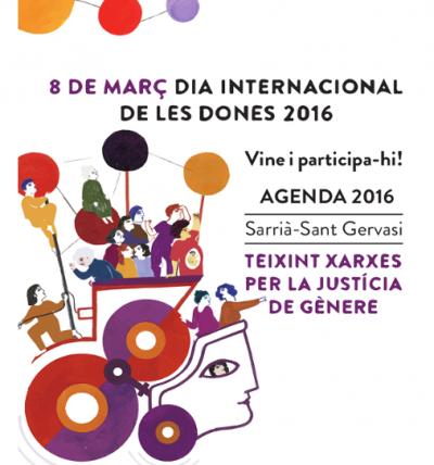 Imatge Dia de la Dona 2016. Ajuntament de Barcelona
