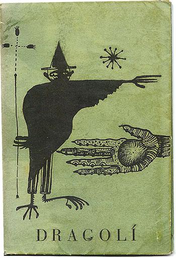L'Urnulfu segons Joan Ponç. Coberta del llibre 'Dragolí' de Joan Brossa (Dau al Set, 1950)