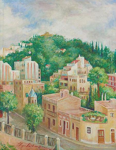 'Putxet', pintura d'Olga Sacharoff