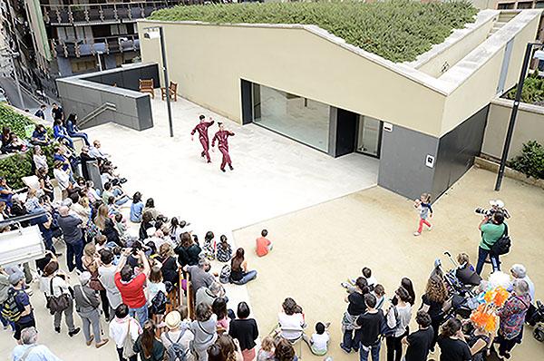 Espectacle de hip hop. Fotografia de Javier Sardá