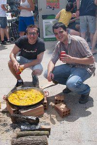 Fotografies del concurs de paelles de la Festa Major de Sant Gervasi. Rosa Castells