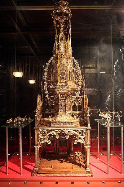 El tron del rei Martí, al museu de la Catedral de Barcelona.  Fotografia de Esteban Galindo