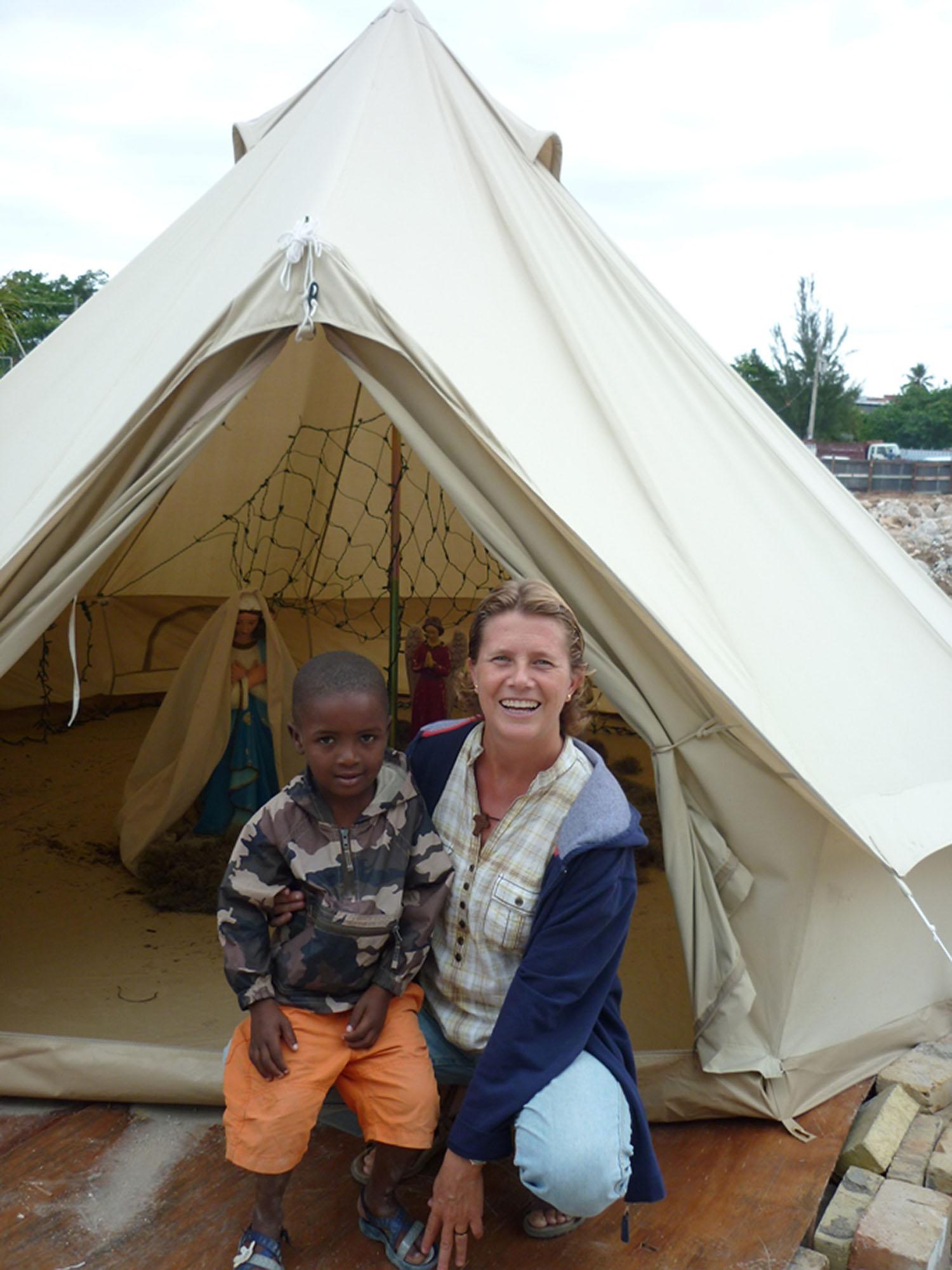 Isa Solà a Haití.