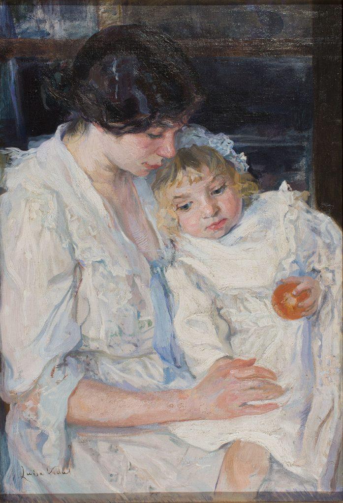 Lluïsa Vidal, Marcelet, malalt, 1905. Col·lecció particular