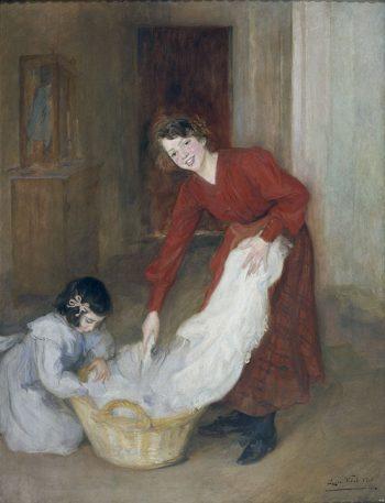 Lluïsa Vidal, Mestresses de casa. Museu Nacional d'Art de Catalunya (MNAC)