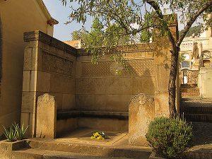 La tomba de Joan Maragall. Fotografia de M. Josep Tort