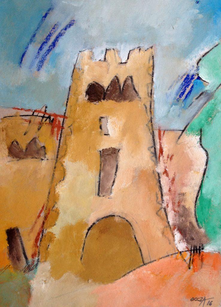 Il·lustració de Jaume d'Oleza.  A la imatge destacada, fotografia de M. Josep Tort