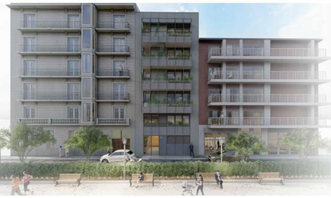 Projecte del nou edificis de cinc plantes.