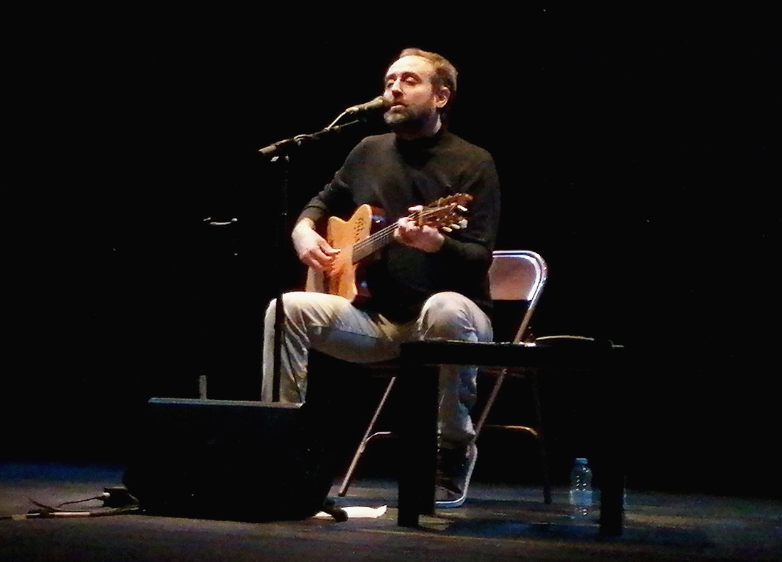 Roger Mas al Teatre de Sarrià