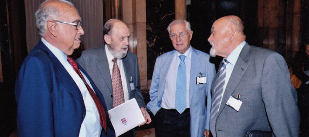 Màrius Foz (esquerra)