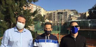 Lluís López (Vocal), Jordi Arrese i Sergio Matute (Vicepresident Esportiu)